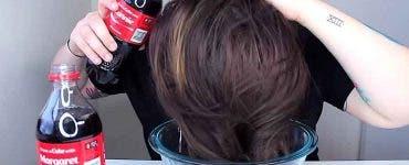 coca cola pentru par
