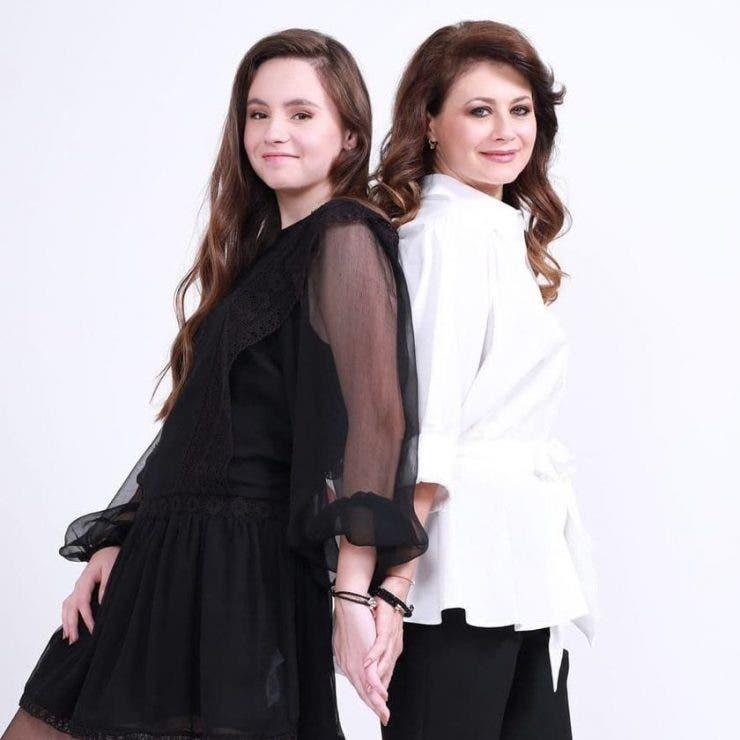 Corina Danila si fiica ei