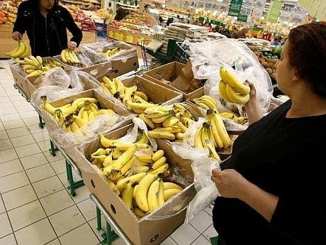 cutie cu banane