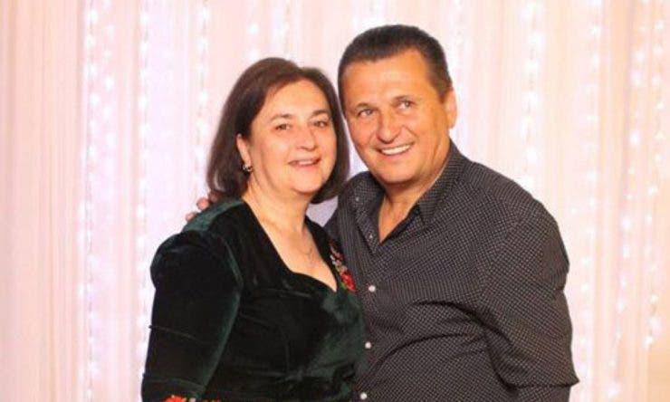 Nea Mărin și soția