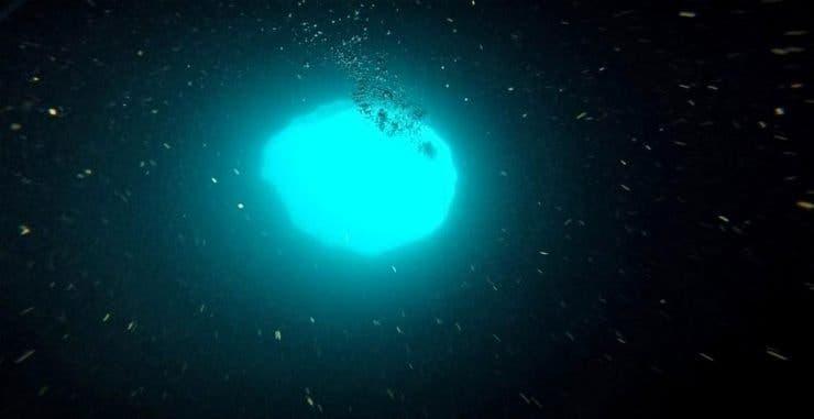 gaură albastră