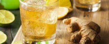 limonada ghimbir