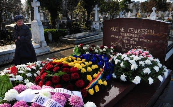 Mormântul lui Nicolae Ceaușescu