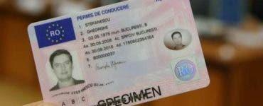 schimbarea permisului auto