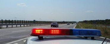 Șofer urmărit de poliție
