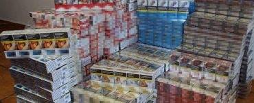 țigări confiscate