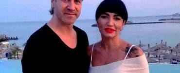 Alin Oprea și soția