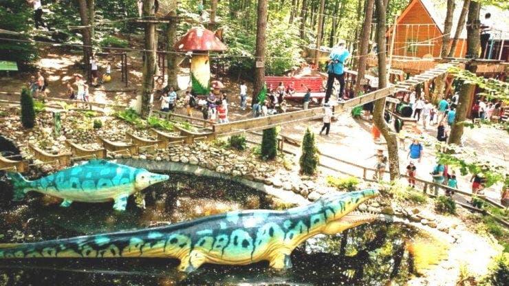 Ce poți face la Dino Parc din Râșnov