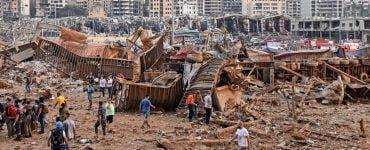 Oameni rămași fără case, rezerve de grâne doar pentru o lună și foarte multe decese. Acestea sunt doar câteva dintre dezastrele cauzate de explozia din Beirut
