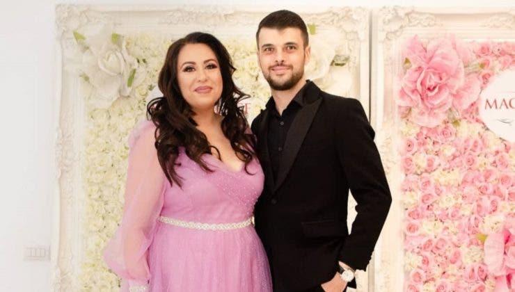 Oana Roman și soțul ei