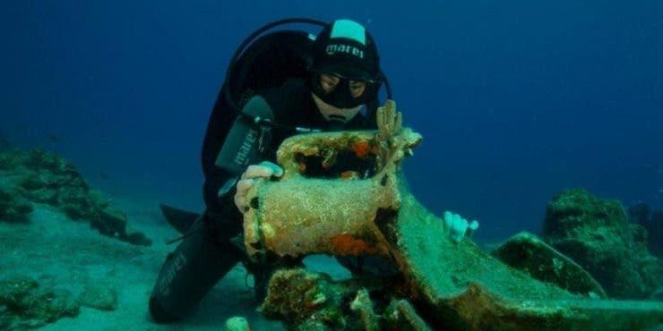 Primul muzeu submarin al Greciei a fost inaugurat sâmbătă. Turiștii pot admira minunățiile Mării Egee