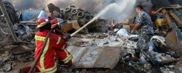 România întinde o mână de ajutor Libanului. Autoritățile române trimit 8 tone de materiale medicale către Beirut