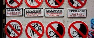 Singapore a ajuns cel mai curat oraș din lume datorită draconicelor legi pe care le are. Ce să nu faci când mergi în Singapore