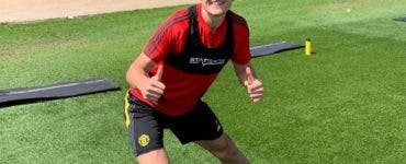 Harry Maguire, Manchester United, bataie