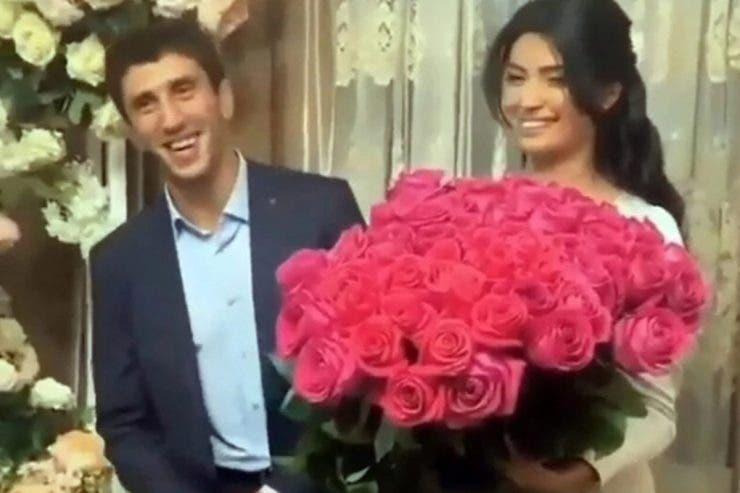 Zaurbek Sidakov, nunta, mireasa batuta