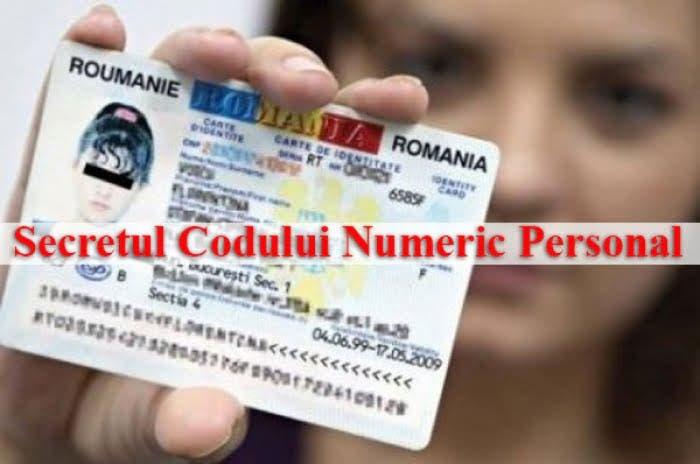 Secretul pe care îl ascunde codul numeric personal! Ce conține, de fapt?