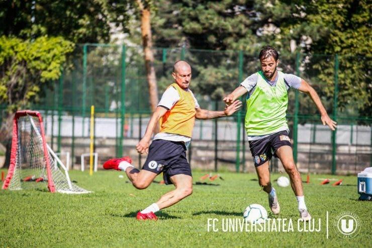 Gabi Tamas, U Cluj, Liga 2