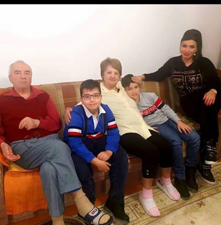 Adriana Bahmuteanu ci copiii ei