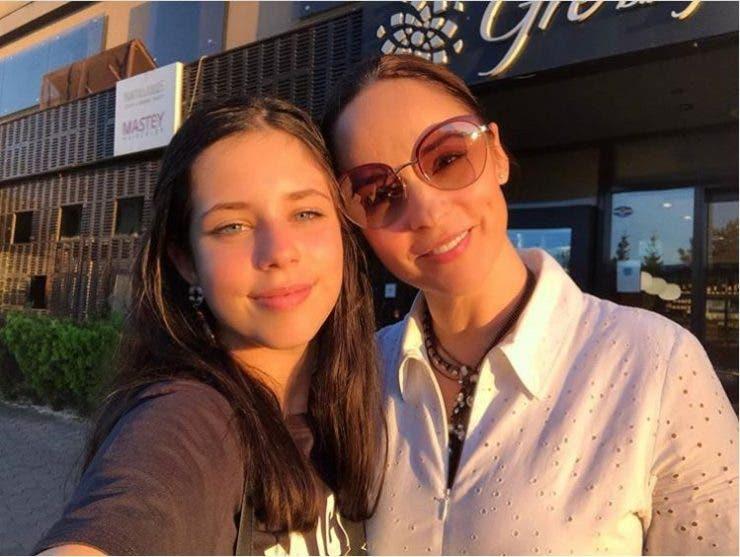 Andreea Marin si fiica ei