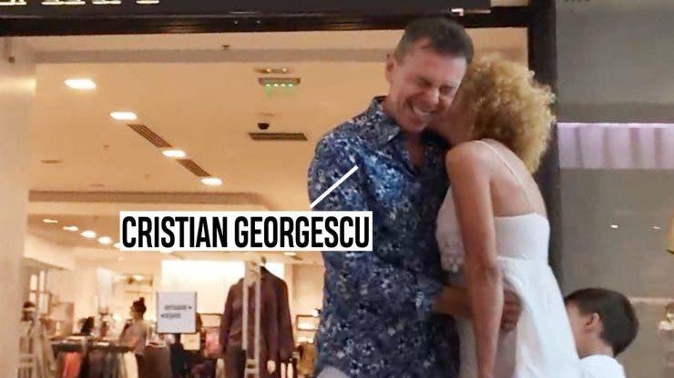 Cristian Georgescu cu noua partenera