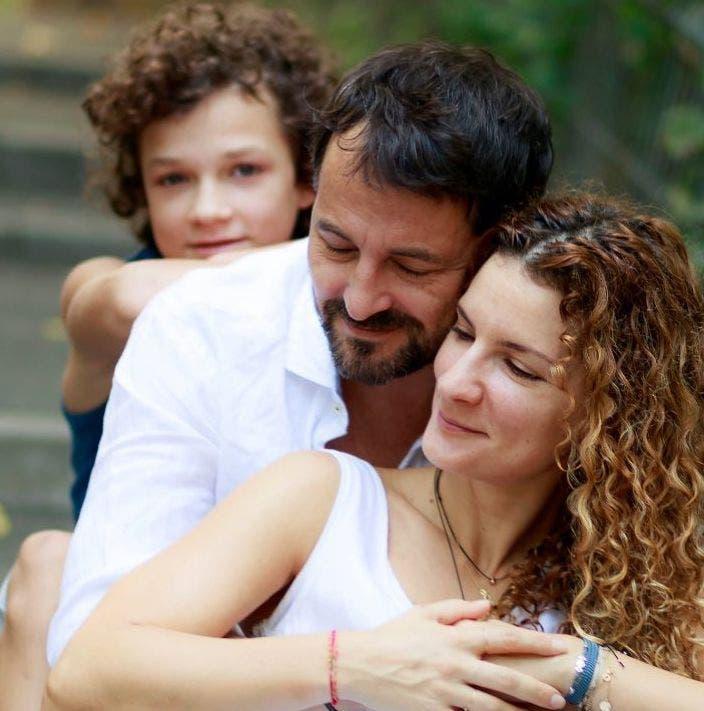 Familia lui Andrei Aradits