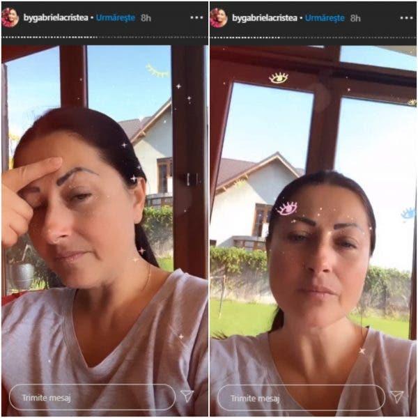 Gabriela Cristea anxietate