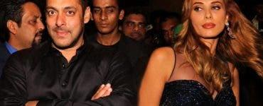 Iulia Vântur și Salman Khan
