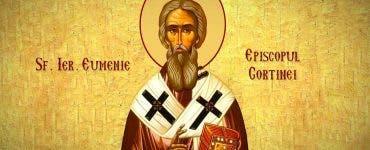 Sfântul Ierarh Eumenie, Episcopul Gortinei,
