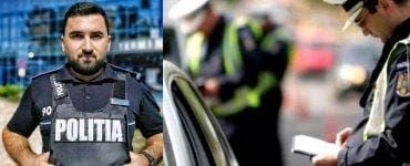 Un polițist din Iași nu i-a mai dat amendă unui șofer