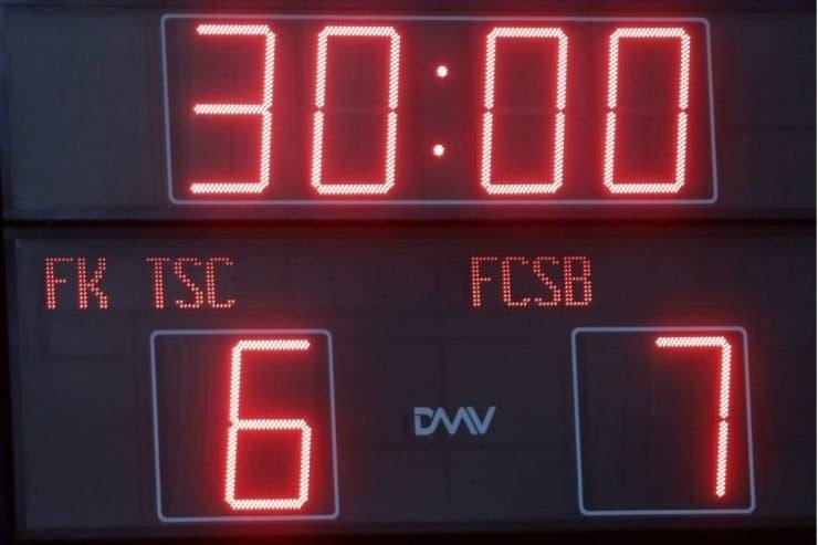 fcsb, Europa League, Backa Topola, record