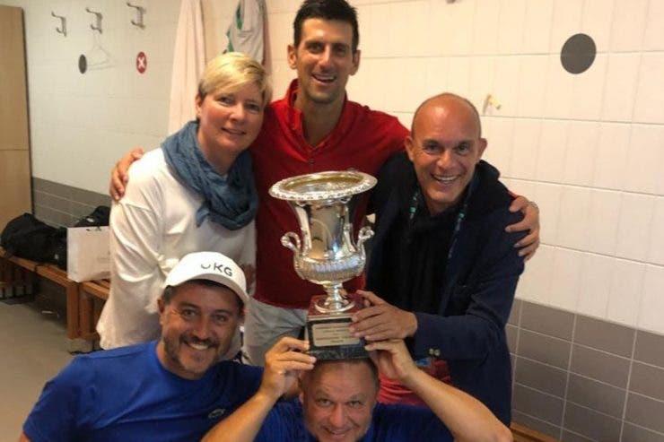 Novak Djokovic, Roma turneu