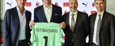 Ciprian Tătărușanu, debut, AC Milan,