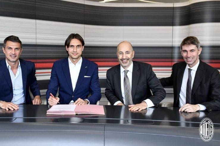 Ciprian Tătărușanu, AC Milan, prezentare
