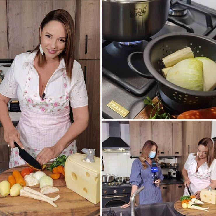 Andreea Marin gătește
