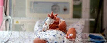 Bebelus infectat cu COVID-19