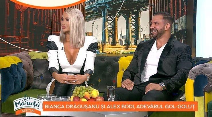 Bianca Dragusanu si Alex Bodi