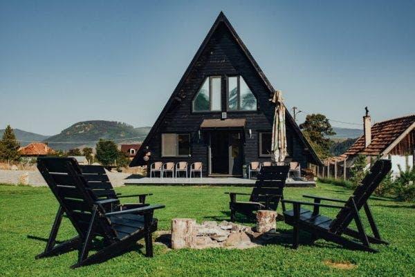 Cabană ,,A house'' la munte