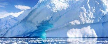 Căldura din Siberia întârzie formarea gheții