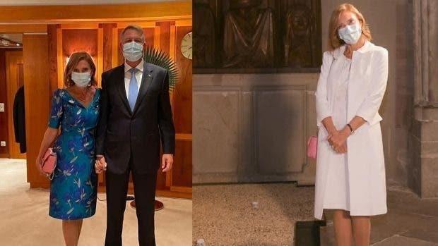 Lecție de modestie! Cât a dat Carmen Iohannis pe rochia purtată la vizita oficială?