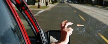 Câți bani a plătit un șofer pentru că a aruncat țigara