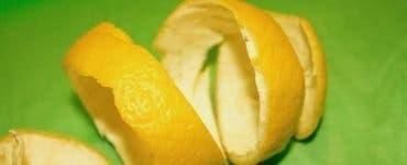 Coaja de lămâie
