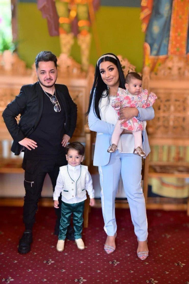 Ionut Cercel si familia sa