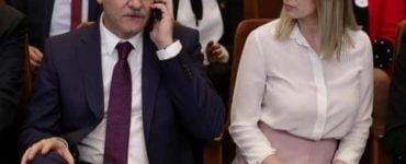 Irina Tănase și Liviu Dragnea