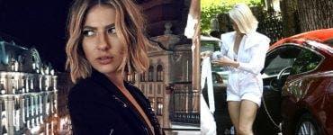 Lidia Buble, la un pas de accident cu o biciclistă pe un bulevard aglomerat din București