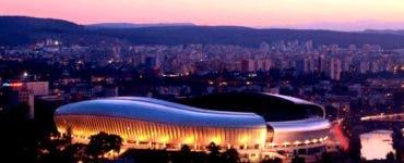 Petrecere cu 320 de persoane în stadionul Cluj Arena