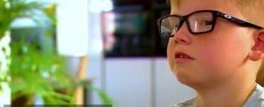 Povestea plină de emoție a unui băiețel al cărui bunic a fost răpus de COVID-19