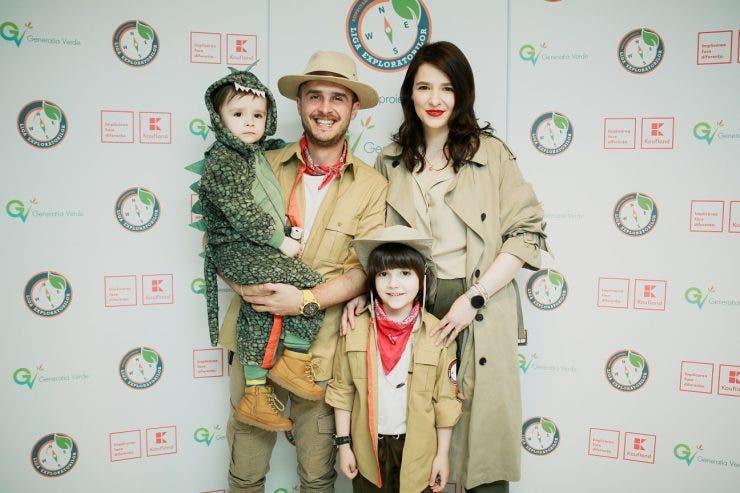 Serban Copot si copiii sai