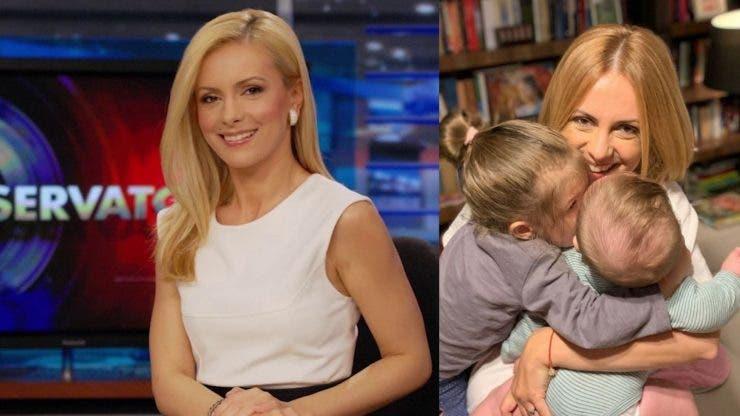 Simona Gherghe a devenit _hairstylist_ pentru fiul ei.
