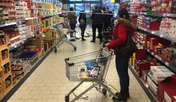 Aliment interzis in magazin