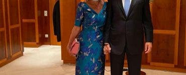 Carmen Iohannis, tinuta eleganta